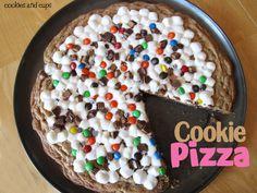 Cookie Pizza Recipe.   Que delicia!