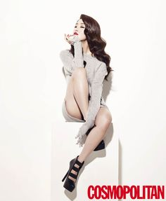 Secret Sun Hwa - Cosmopolitan Magazine October Issue '14