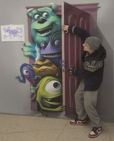Awesome Monsters, Inc. 3D art