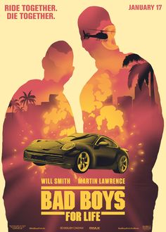 Bad Boys For Life - Alternate Movie Posters on Behance Life Poster, Movie Poster Art, Poster On, Film Posters, Poster Ideas, 90s Movies, Iconic Movies, Good Movies, Chicago Fire