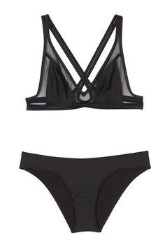 Ephemera   Noir Twist Back Bikini   My Chameleon