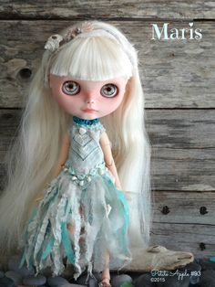 Blythe custom doll Maris by Petite by PetiteAppleShop