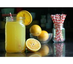 7 Homemade Sports Drink Recipes For Healthier Sipping: Orange Twist Sports Drinks