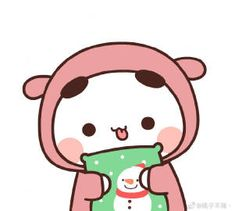 Chibi Cat, Panda Art, Kawaii Illustration, Little Panda, Cute Profile Pictures, Kawaii Wallpaper, Cute Comics, Cute Cartoon Wallpapers, Cute Gif
