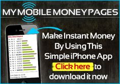 My Mobile Money: HOTTEST IPHONE and ANDROID APP #gadget #apps