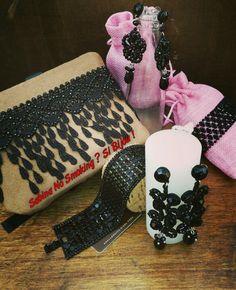 Collane e orecchini bracciali eleganti di  pizzo  Vetrina #sabinanosmokingsibijou