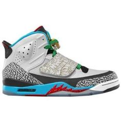 new arrival 5adc1 45395 Air Jordan Son of Mars Olympic Grey Blue Red 2012 Shoes Online Nike Air Max  Mens