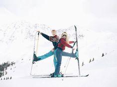 love, skiing, fun