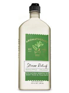 Eucalyptus Spearmint Body Wash and Foam Bath - Aromatherapy | Bath & Body Works