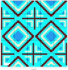 Stitch Fiddle is an online crochet, knitting and cross stitch pattern maker. Tapestry Crochet Patterns, Bead Loom Patterns, Crochet Stitches Patterns, Crochet Chart, Bead Crochet Rope, Diy Crochet, Cross Stitch Pattern Maker, Cross Stitch Patterns, Mochila Crochet