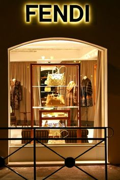 Fendi originally launched in 1925 by Edoardo and Adele Fendi; a fur and leather shop in Via del Plebiscito, Rome. Today is a multinational luxury goods company owned by LVMH, Karl Lagerfeld is the creative director.