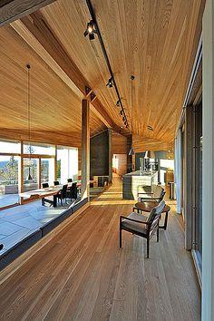 Exquisite Skihütte :: holzbau austria - Fachmagazin für nachhaltige Architektur ::