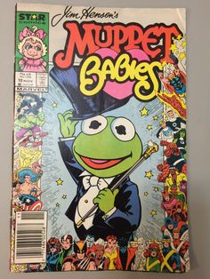 Jim Henson's Muppet Babies, rare Nov. 10 Star Comics Marvel 1986 comic book for sale; by Estate ReSale & ReDesign by Estate2 on Etsy