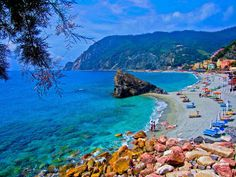 Enjoying the beach! Italy!