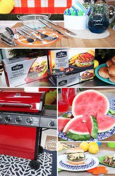 Backyard burger grilling essentials Backyard Burger, Drink Recipes, Watermelon, Bacon, Grilling, Essentials, Entertaining, Display, Fruit