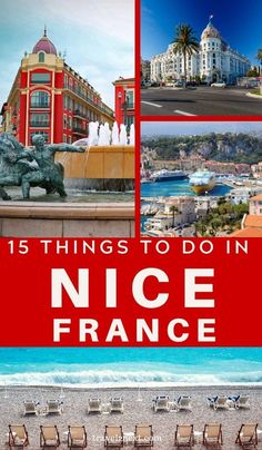 Things To Do In Nice France - 15 Incredible Things To Do In Nice. From beach clubbing to museum hopping, there are so many wonder - Europe Travel Guide, Europe Destinations, France Travel, Travel Guides, France Europe, Spain Travel, Germany Travel, Europe Beaches, Visit France