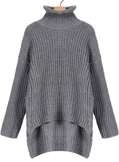 Dipped Hem Sweater