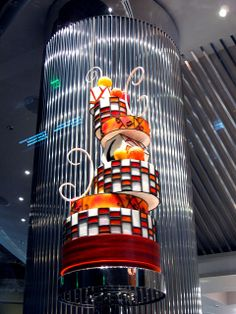 Crazy Cake on Display at Jean Philippe Patisserie in the Aria Hotel & Casino by joanna8555, via Flickr