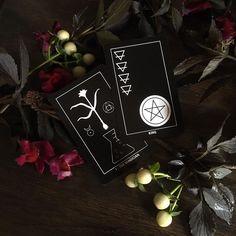 The Dark Exact Tarot Deck – Home & Living Felt Case, Element Symbols, Title Card, Card Companies, Major Arcana, Handmade Felt, Tarot Decks, Deck Of Cards, Tarot Cards