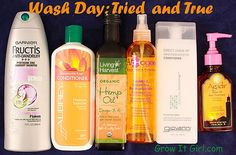 Wash Day: Tried and True Hair Products #haircare #healthyhair