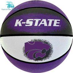 "Game Master NCAA 7"" Mini Basketball Kansas State Wildcats NBA 2017 outdoor"
