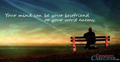 Best freind or best enemy?  #Caregiving www.CaregiversCaregiver.com