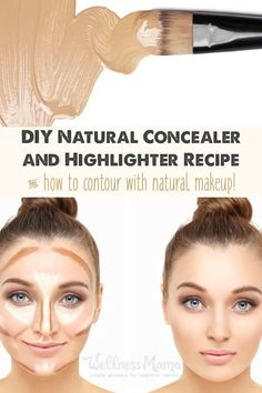 This natural concealer uses natural oils, shea butter, aloe and vegetable ingredients with zinc, cocoa and minerals to cover blemishes.