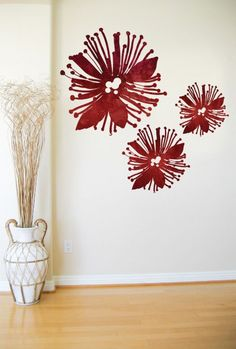 Wall graphics by Design Juice. These designer wall decals are a simple and amazing way to decorate your home, bach or office. Tattoo Sleeve Designs, Flower Tattoo Designs, Maori Designs, Nz Art, Fabric Embellishment, Stencil Art, Stencils, Maori Art, Kiwiana