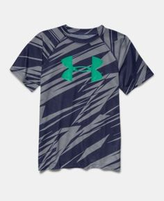 Boys' UA Tech™ Big Logo Printed T-Shirt