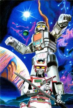 Jaspion e Daileon 100% em lápis de cor.                                                                                                                                                                                 Mais Gundam, Vr Troopers, Japanese Monster, Vampire Hunter, Manga, Power Rangers, Live Action, Tv, Comic Art