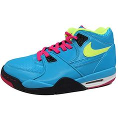 finest selection e8c86 df78f Nike Mens NIKE AIR FLIGHT 89 BASKETBALL SHOES 9 DYNAMIC BLUEVOLTFRBRRYBLK  ** You can find more details by visiting the image link.