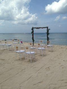 Intimate Beach Wedding!  #BeachWedding #DestinationWedding http://www.vfldestinationweddings.com/