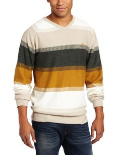 Volcom Men`s Standard Stripe Sweater - List price: $55.00 Price: $20.83 Saving: $34.17 (62%)