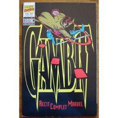 Recit Complet Marvel N° 45 : Gambit - (Rcm - Semic France) France, Marvel, Cover, Books, Libros, Book, French, Blanket, Book Illustrations