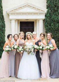 Neutral Bridesmaids//