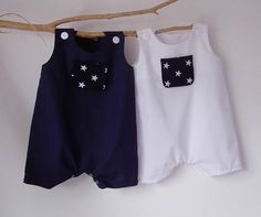 Newborn Baby Boy Clothes Newborn Rompers 4th of by PetiteCousine