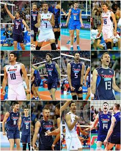 Italian mens volleyball team Rio 2016....good lord!