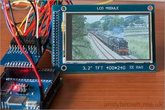 [Andy Brown] wrote in to show off the TFT LCD adapter he's been working on for connecting inexpensive displays to an Arduino Mega. These TFT LCD screens can be picked up on eBay for a few dolla...