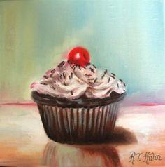 Mouthwatering cupcake by Rita Strauss-Kuhn