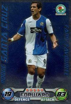2008-09 Topps Premier League Match Attax Extra #114 Roque Santa Cruz Front