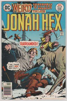 Weird Western Tales; Vol 1, 38 Bronze Age Comic Book. FN+. Feb 1977.  DC Comics. #jonahhex #comicsforsale