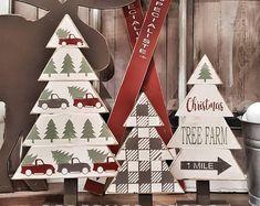 Christmas Wood Crafts, Christmas Tree Farm, Christmas Signs, Rustic Christmas, Christmas Projects, Holiday Crafts, Christmas Holidays, Christmas Decorations, Christmas Ornaments