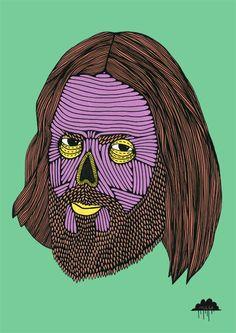 Mulga's Zombie Zoo – Zombie Reece | Creaturemag Online Art Magazine