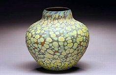 Native vessel by Thomas Spake Glass ~  x