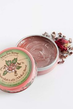 Rosebud Perfume Co. Mocha Rose Lip Balm Tin at Free People Clothing Boutique Lip Gloss Colors, Lip Colors, Tinted Lip Balm, Best Lipsticks, Soft Lips, Lip Moisturizer, Rose Buds, The Balm, Free People