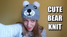 How to Make Cute Bear Knit