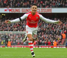 Chile striker Alexis Sanchez will be back in the Arsenal squad for Tuesday's Premier League game against bottom club Leicester City as Ars. Alexis Sanchez, Young Guns, League Gaming, Leicester, Bournemouth, Arsenal Fc, Premier League, Manchester United, Liverpool