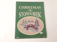 Christmas at Stoneycreek  Counted Cross Stitch by 2Fun4Words