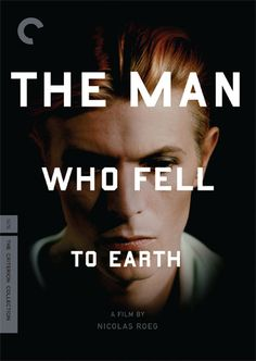 The Man Who Fell to Earth, directed by Nicolas Roeg. 1976. Spine # 304.