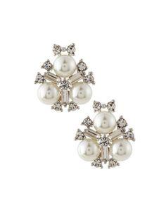 Greenbeads Crystal Statement Stud Earrings pRn2FPn